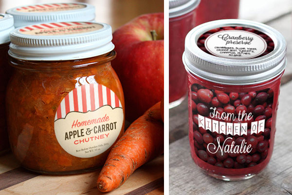 custom labels, custom stickers, canning, preserves, jars, jar labels
