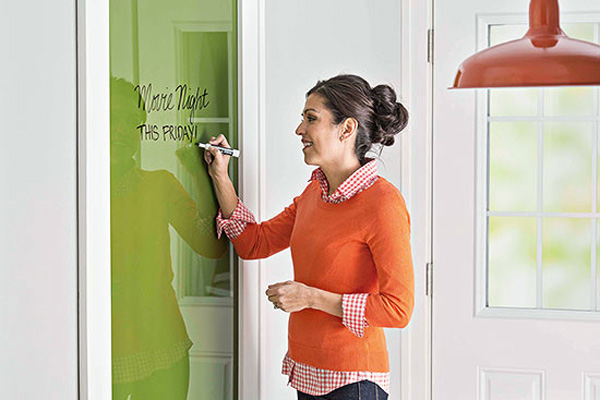 diy dry erase, white board, home decor, blank wall, home organization