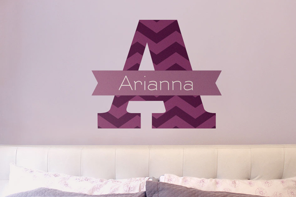 custom wall decal, name wall decal, wall decal, wall art, wall decor