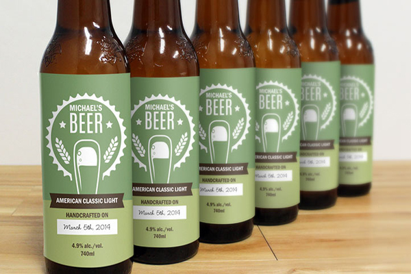 custom beer labels, custom bottle labels, custom decal, personalized labels, drink labels, wine labels