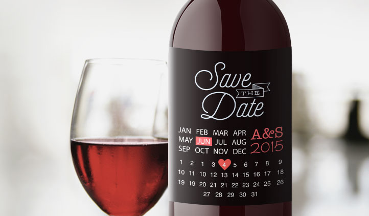 events, wine label, save the date, invitation, wedding