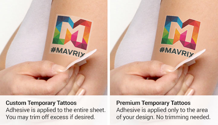 temporary tattoo, marketing, events