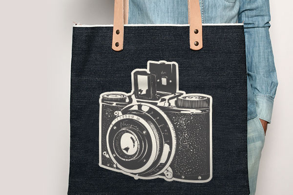 iron-on design, iron-on label, iron on transfer, iron-on bag, iron on tote bag