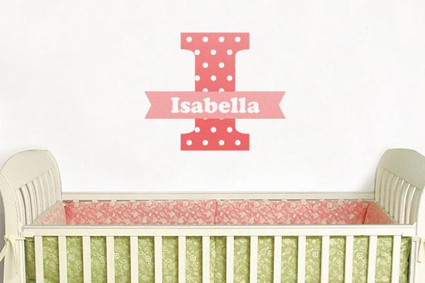 wall decal, custom wall decal, wall art, nursery wall decal, large format decal, wall sticker