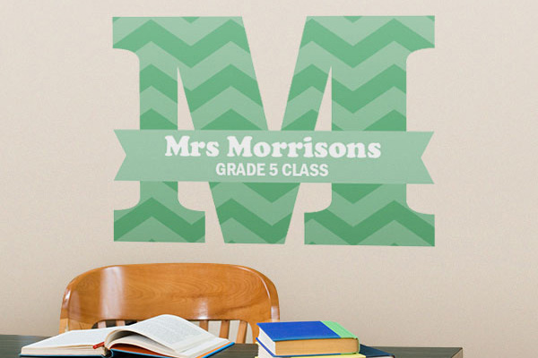 wall decal, wall graphics, wall art, classroom decals, class sign