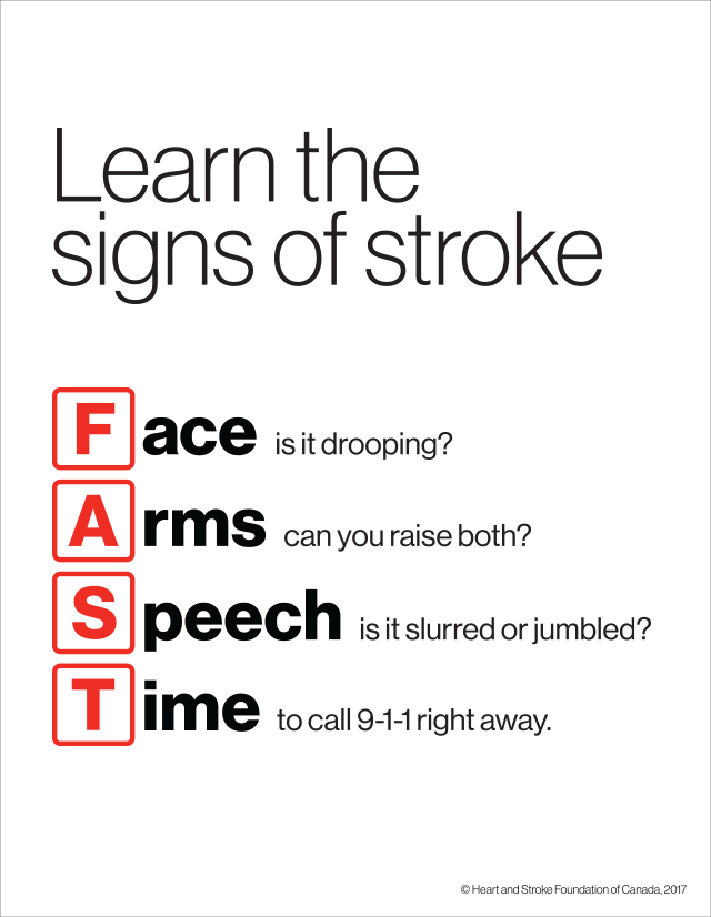 Know the signs FAST