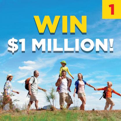 WIN $1 MILLION