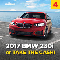 2017 BMW 230i or TAKE THE CASH!