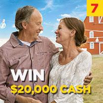 WIN $20,000 CASH
