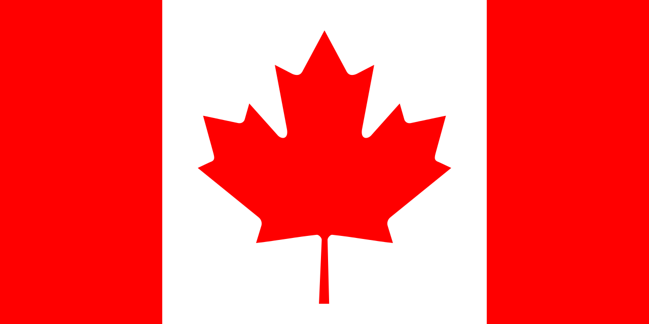 International flag Canada