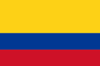 International flag Colombia