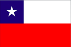International flag Chile